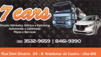7 CARS | Direção Hidráulica, Elétrica e Eletrônica