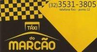 Táxi do Marcão