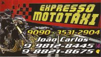João Carlos Moto Táxi