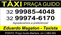Táxi Praça Guido – Eduardo Magaton
